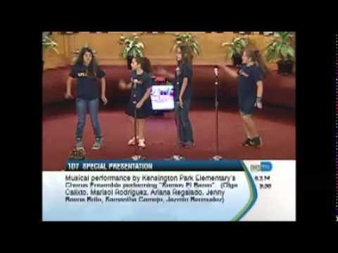 Kensington Park Elementary School Chorus Ensemble June 3, 2014