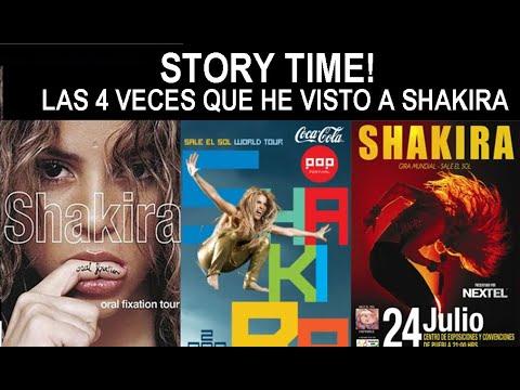 Las 4 Veces que he visto a ShakiraStory Time