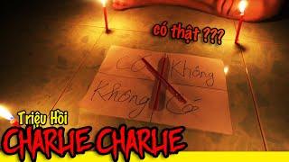 Phim Ngắn: Chơi trò chơi gọi hồn Charlie Charlie tại căn nhà Ma Ám ( Charlie Charlie Pencil Game)