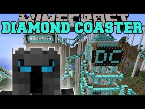 Minecraft: THE DIAMOND ROLLER COASTER