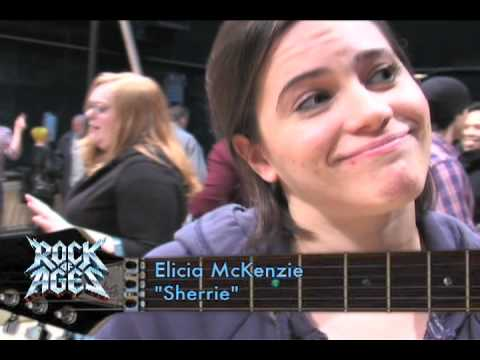 Rock of Ages Toronto 1st Rehearsal