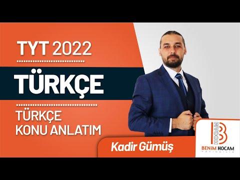 14) Kadir GÜMÜŞ - Fiil / Eylem - I (TYT-Türkçe) 2020