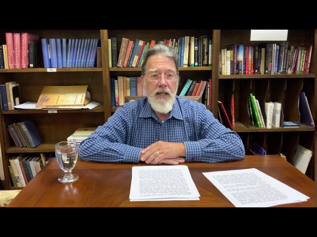 Bible Study with Bill Stahl - Week 17 The Plagues