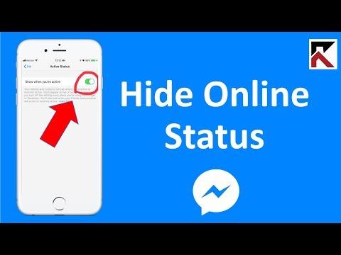 How To Hide Online Status On Facebook Messenger (update in bio)