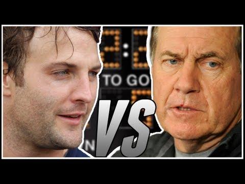 Wes Welker vs Bill Belichick!