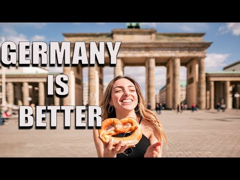 WHY LIFE IN GERMANY IS BETTER! [ Germany ]