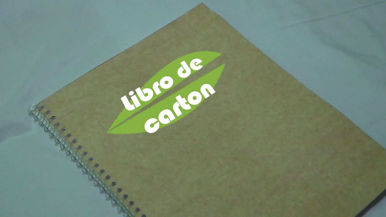 Diy como hacer un libro con carton youtube - Como construir un altillo ...