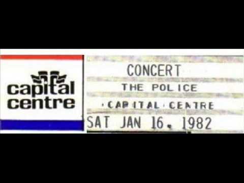 "THE POLICE - Washington D.C. 16-01-1982 ""Capital Centre"" USA (FULL AUDIO SHOW)"