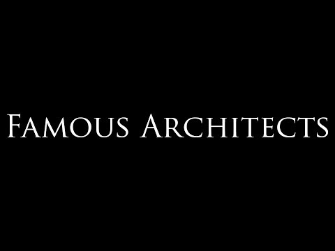 Famous Architects: Genius in Triumph and Tragedy