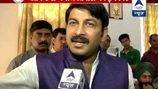 Manoj Tiwari denies giving any offers to Kumar Vihwas l AAP says BJP did