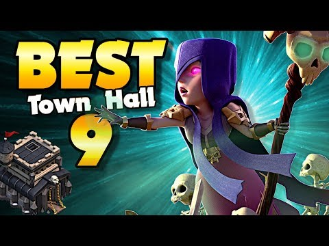 BEST Town Hall 9 Attacks In Clash