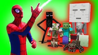 - Monster School Superhero Spiderman Hulk Star Wars Boys vs. Girls Monster School Compilation