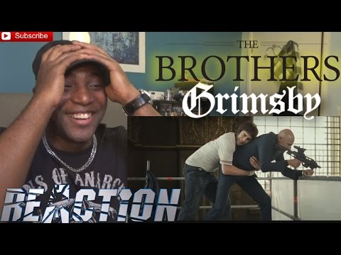 The Brothers Grimsby Official Trailer #1 (2016) Sacha Baron Cohen, Rebel Wilson - REACTION!