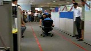 Office Chair Races - Biz Interlopers
