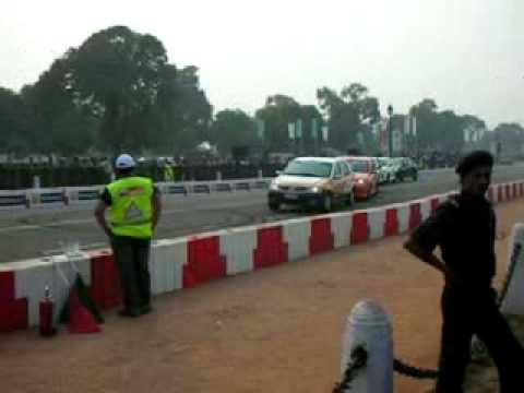 Renault F1 Roadshow, New Delhi, 2008.