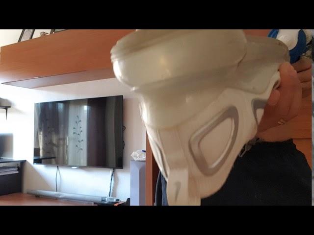 insondable el plastico Normalización  Reparar zapatillas de cámara de aire - YouTube