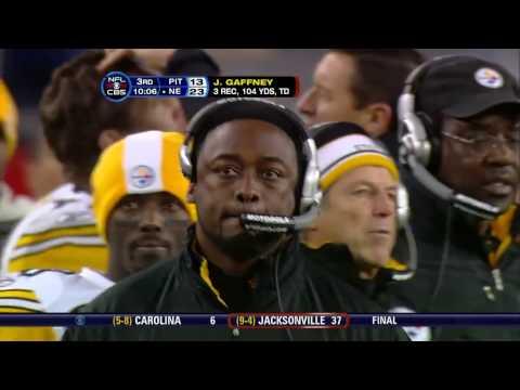 Tom Brady - Randy Moss 56-Yard Flea Flicker TD (2007 vs. Steelers)