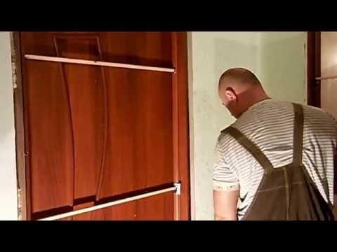 Установка доборов межкомнатных дверей