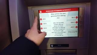 Германия как можно видеть или забрать свои деньги из немецкий  банкомат