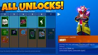 BUYING ALL 100 TIERS! Season 5 Battle Pass ALL Unlocks! Season 5 ALL Skins Showcase! (Fortnite)
