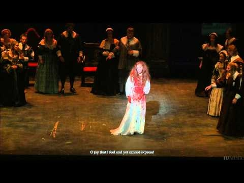 "The ""Mad Scene"" from Lucia di Lammermoor by Gaetano Donizetti."