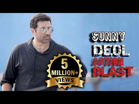 Sunny Deol Best Fight Action Dialogue Scenes Compilation Video