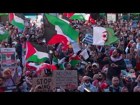 شاهد: الآلاف يتظاهرون في سيدني الأسترالية دعماً للفلسطينيين …  - 16:55-2021 / 5 / 15