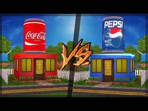 CASA DE COCA COLA VS CASA DE PEPSI no MINECRAFT