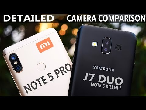 Redmi Note 5 pro vs Samsung J7 DUO  - Camera comparison # Note 5 Killer ? Portrait mode 14k vs 17k