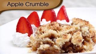 Apple Crumble -  Sweet Dessert Recipe