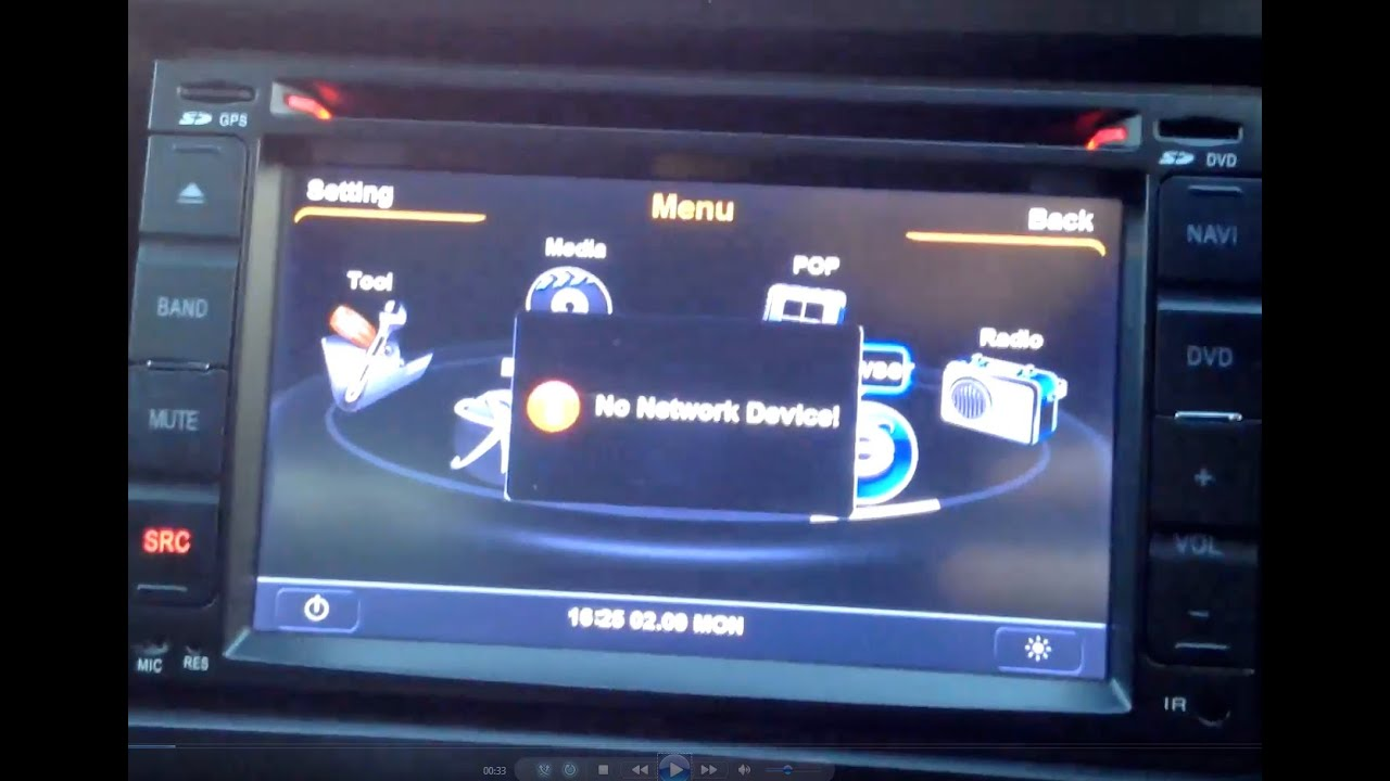 Koolertron S100 Car Dvd Unit - Wifi And 3g Dongle Needed
