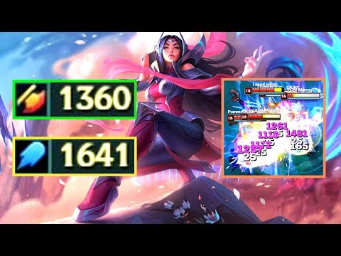 IRELIA 1300+ AD & 1600+ AP! Damage Test after Rework!