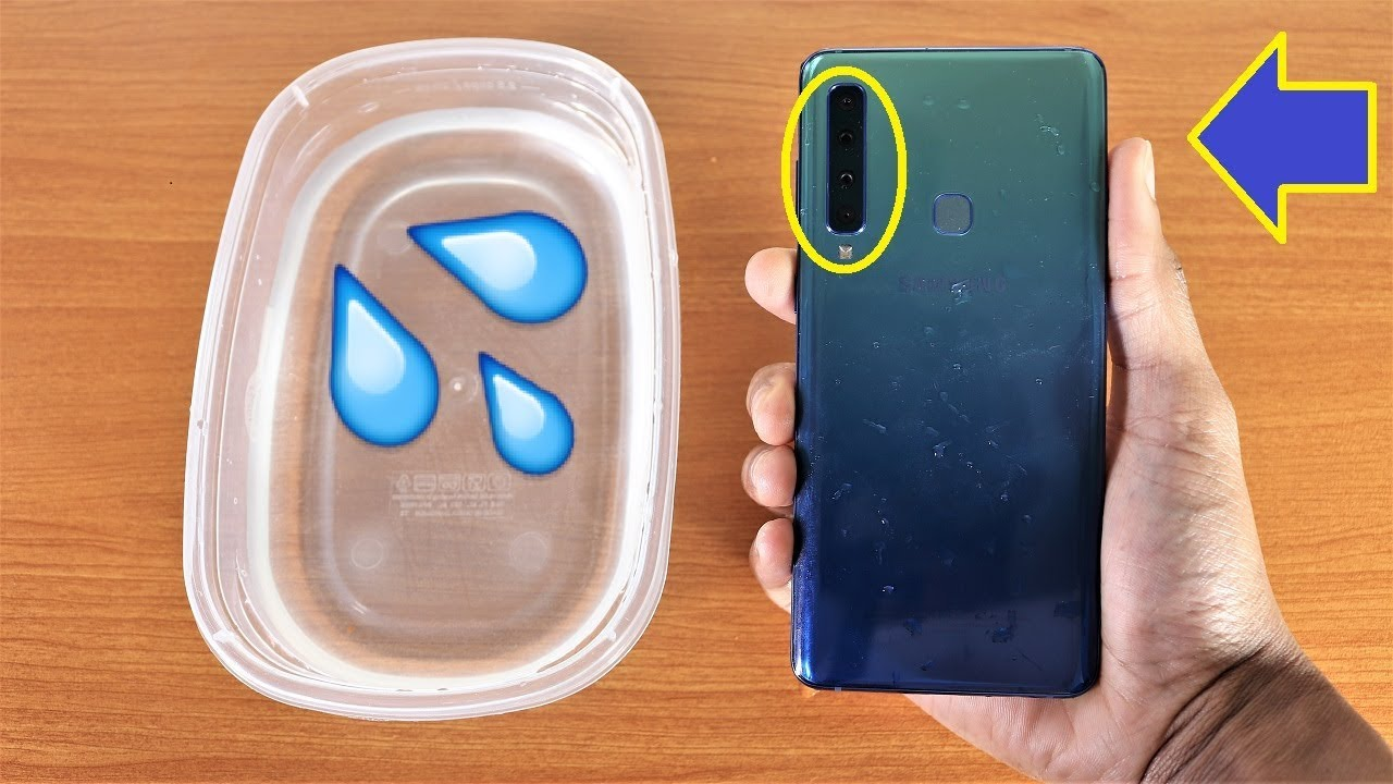 best service 97e09 c2cb1 Galaxy A9 2018 Water Test - Is It Water Resistant?