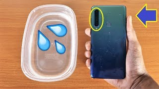 Galaxy A9 2018 Water Test - Is It Water Resistant?