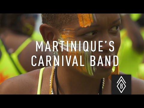 Marching to the tune of Martinique's Carnival Band  - Ep 2/4