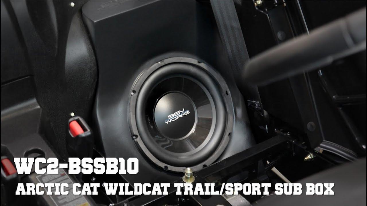 Ssv Works Wc2 Bssb10 Installation Subwoofer Enclosure For