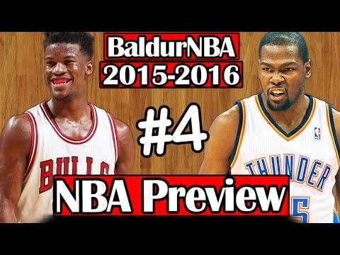 BaldurNBA 2015-16 NBA Preview | #4 - Bulls & Thunder