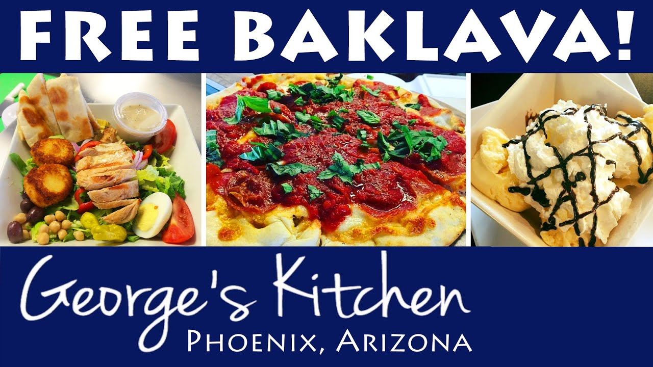 greek restaurant phoenix georges kitchen restaurants in phoenix az youtube - Georges Kitchen
