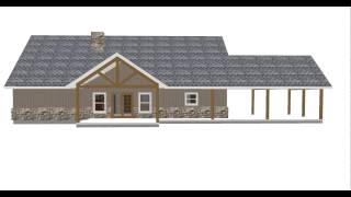 Country Style Hardie Board And Batten Home