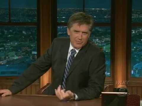 Late Late Show with Craig Ferguson 9/29/2008 Melina Kanakaredes, Gina Carano, Amy Macdonald
