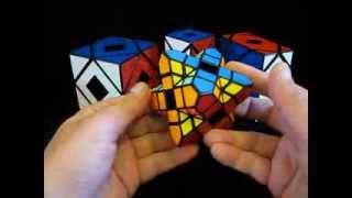SunWinder's Holey Skewb Xtreme Puzzle