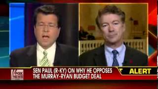 Sen  Rand Paul On State Of GOP, New Budget Deal