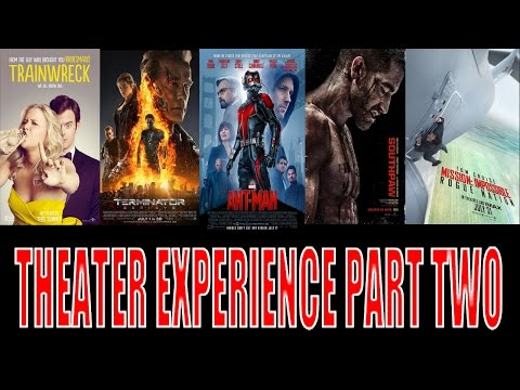 EPIC THEATER EXPERIENCE PART TWO - June 25th to July 31st