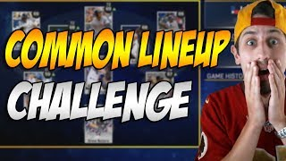 COMMON LINEUP CHALLENGE - JABARI BLASH IS THE GOAT - MLB 17 THE SHOW DIAMOND DYNASTY