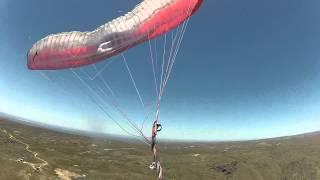 Emergencia Parapente!! Paracaidas reserva Merlo San Luis