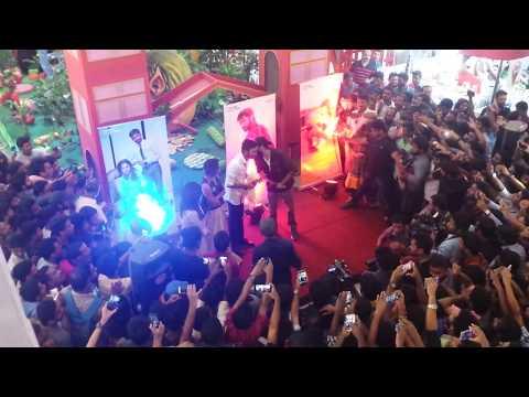 Dhanush , Soundarya Rajinikanth And Amala Paul @ oberon mall kochi