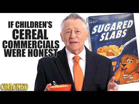 If Children's Cereal Commercials Were Honest - Honest Ads