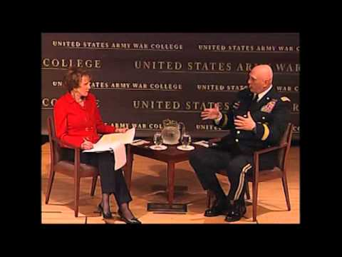 2013 Strategy Conference Dialogue with GEN Ray Odierno, (CSA) PBS NewsHour's Margaret Warner