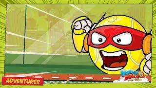 SuperZings Cartoons Episode 3 ⚡ Ace VS Smash | Rivalen Von Kaboom