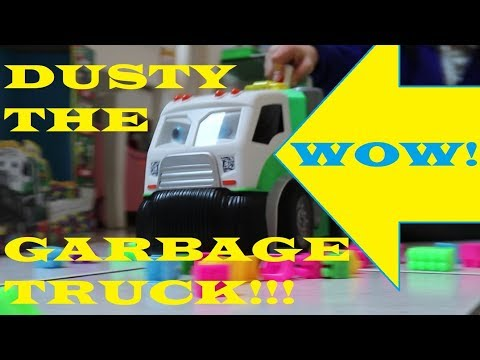 Learn Numbers | Dusty the Garbage Truck | 3 Scooby Doo Chocolate Eggs | SciSci Toys